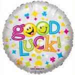 "GOOD LUCK SMILES BALLOON 18"" 19300-18"
